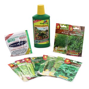 Набор семян зелень