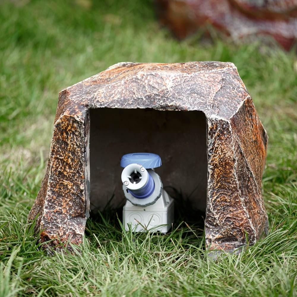 Декоративная крышка с садовой розеткой - фото 27283