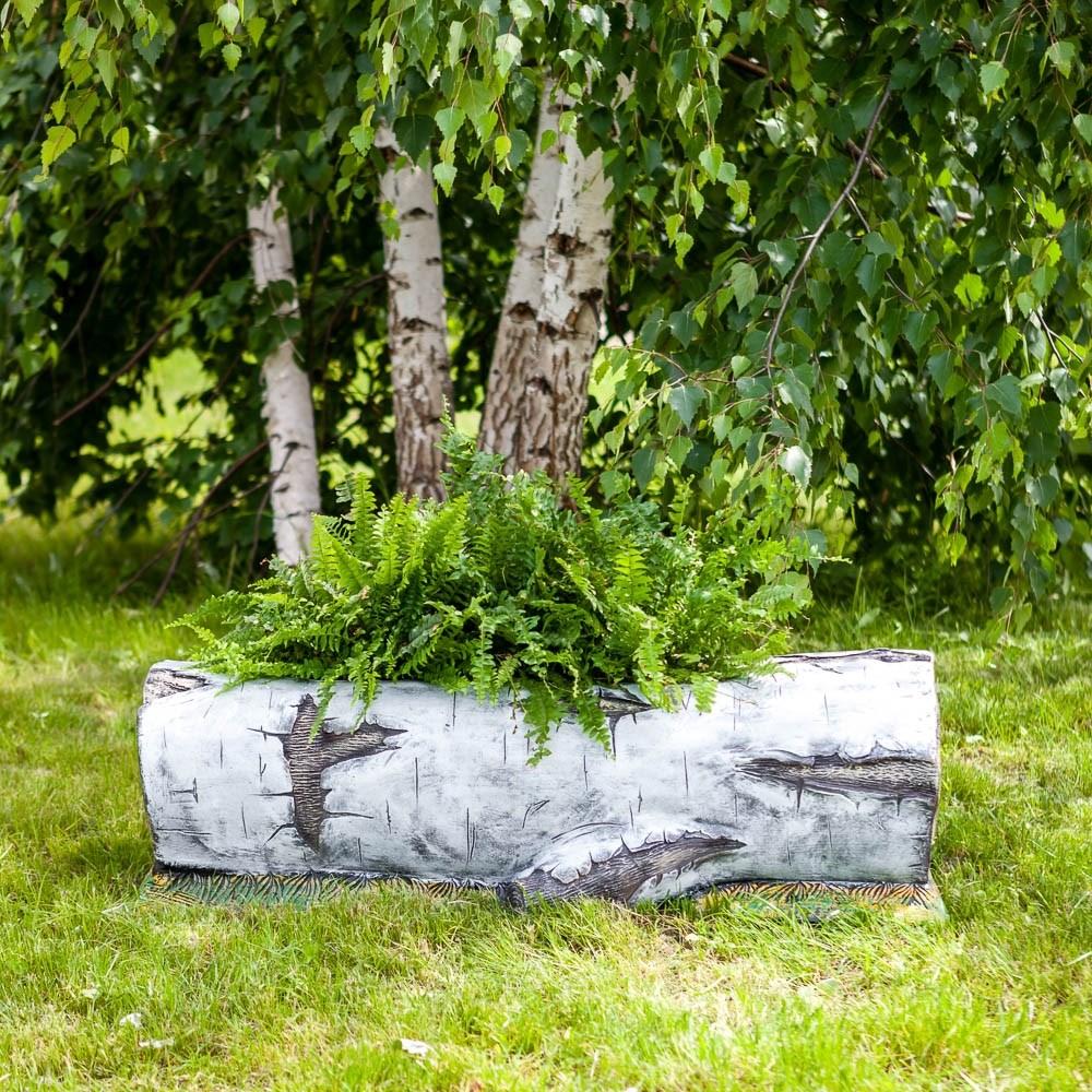 Кашпо садовое березка
