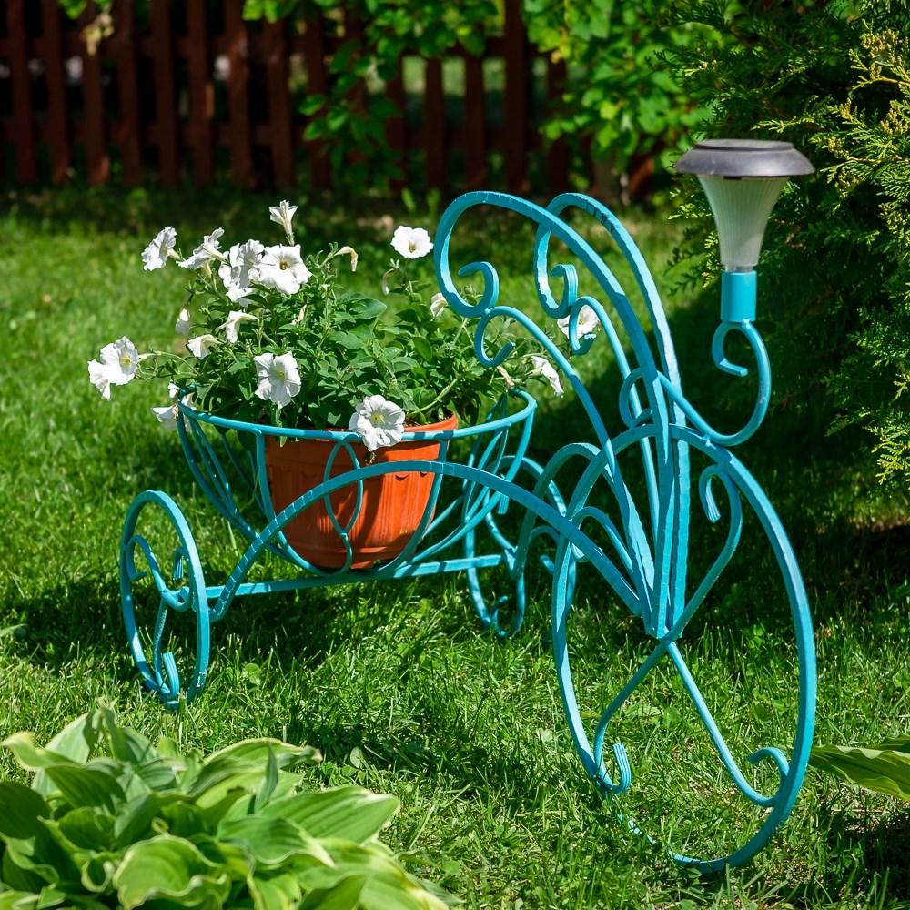 Подставка с фонарем Велосипед 53-355 - фото 56151