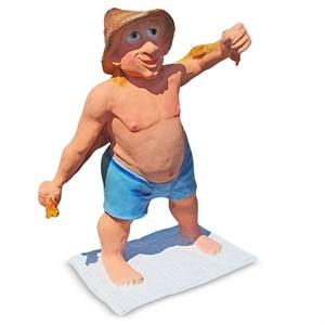 Фигура Банщик из стеклопластика