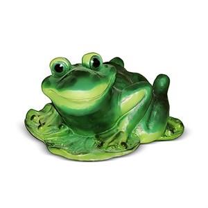 Декоративная фигура Лягушка на листе кувшинки