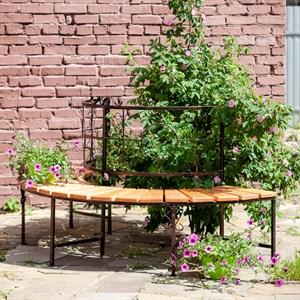 Модульный диван для сада