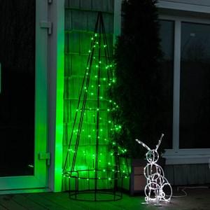Светящаяся елка