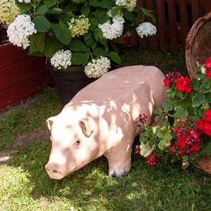 Садовая лавка Свинка