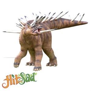 Огромный динозавр Кентрозавр