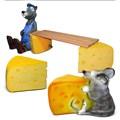 Лавка и стулья для дачи