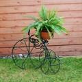 Подставка садовая велосипед - фото 15650