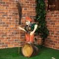 Садово-парковая фигура Баба Яга