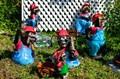 Кроты садовые фигуры