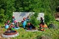 Садовые фигуры кроты