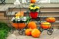 Подставка для цветов карета - фото 39083