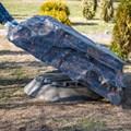 Крышка септика камень U08099
