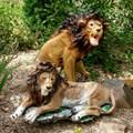 Садовая фигура Лев рычит - фото 58066